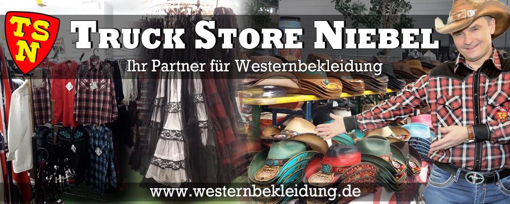 Thorsten Niebel - Westernversand & Truck Store Niebel - Seit 1981 zuverlässig, beständig und vertrauenswürdig.